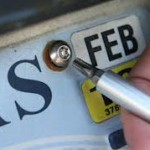 What to do in the event of theft of number plates?
