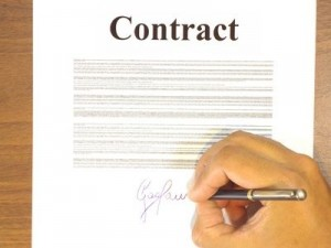 part-time work contract