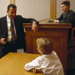 The views of children in court, sensitive issue
