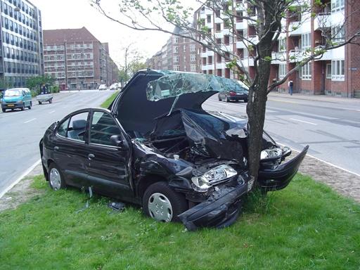 involved in car crash