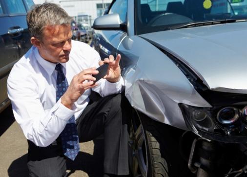 claim in car accident