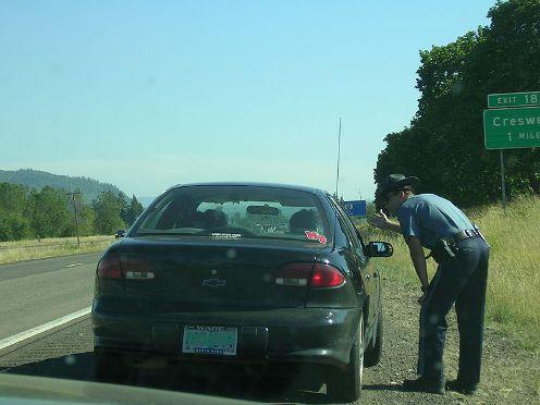 speeding violation