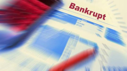 business files for bankruptcy