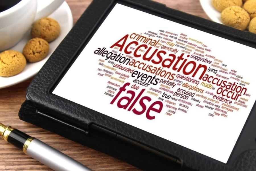 False Accusations: Causes And How to Defend it