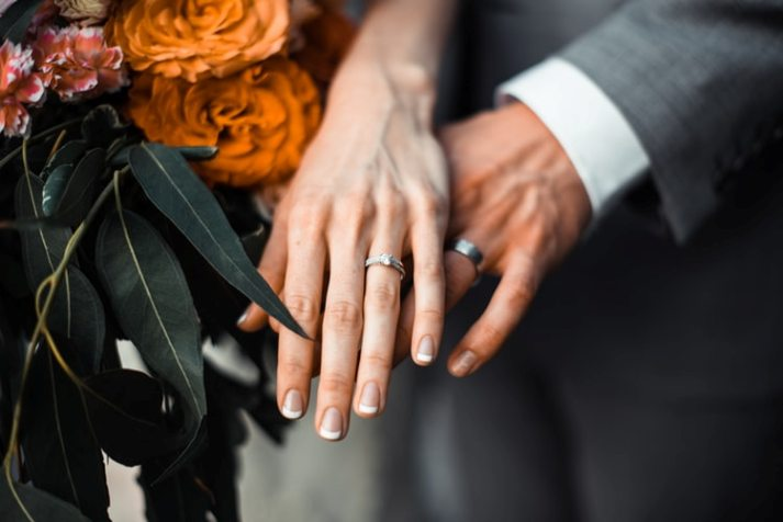 contract with wedding photographer